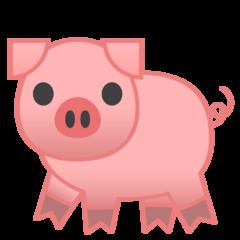 Pig google emoji