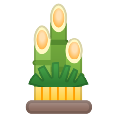 Pine Decoration google emoji