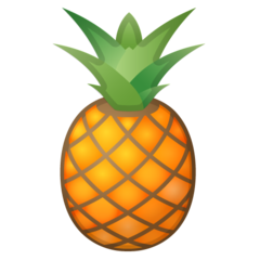 Pineapple google emoji
