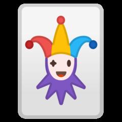 Playing Card Black Joker google emoji