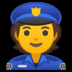 Police Officer google emoji