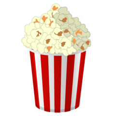 Popcorn google emoji