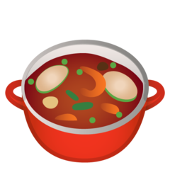 Pot Of Food google emoji