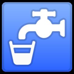 Potable Water Symbol google emoji