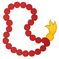 Prayer Beads google emoji