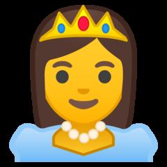 Princess google emoji