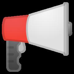 Public Address Loudspeaker google emoji