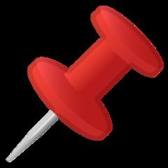 Pushpin google emoji