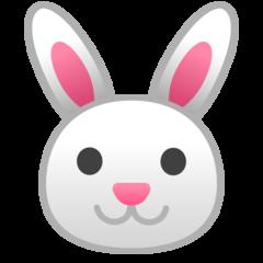 Rabbit Face google emoji