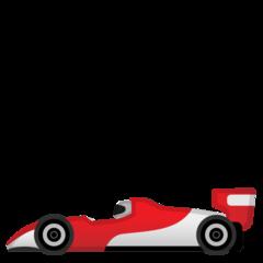 Racing Car google emoji