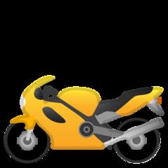 Racing Motorcycle google emoji