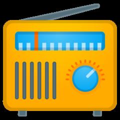 Radio google emoji