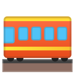 Railway Car google emoji
