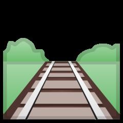 Railway Track google emoji