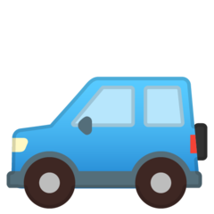 Recreational Vehicle google emoji