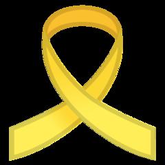 Reminder Ribbon google emoji