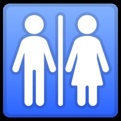 Restroom google emoji