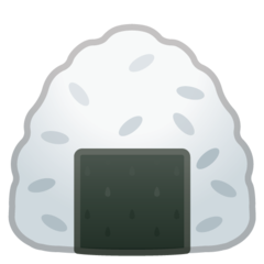 Rice Ball google emoji