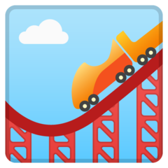 Roller Coaster google emoji