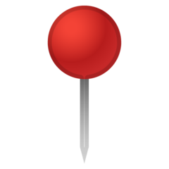Round Pushpin google emoji