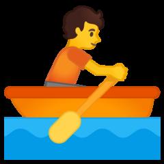 Rowboat google emoji