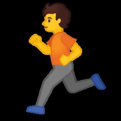 Runner google emoji