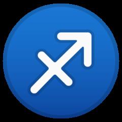 Sagittarius google emoji