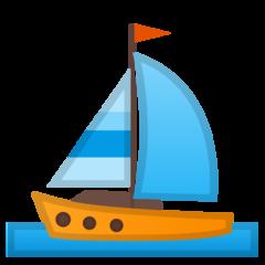 Sailboat google emoji
