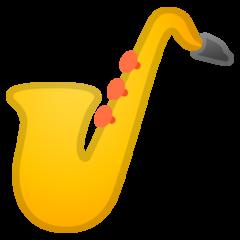 Saxophone google emoji
