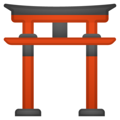 Shinto Shrine google emoji