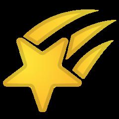 Shooting Star google emoji