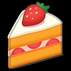 Shortcake google emoji