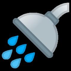 Shower google emoji