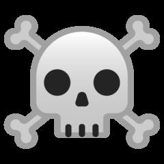 Skull And Crossbones google emoji