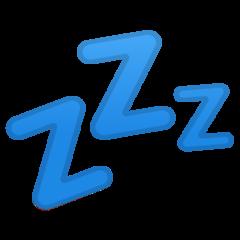 Sleeping Symbol google emoji