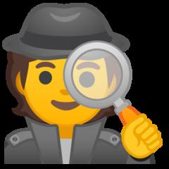 Sleuth Or Spy google emoji