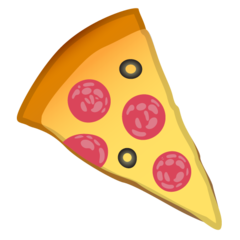 Slice Of Pizza google emoji