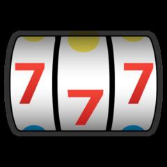 Slot Machine google emoji