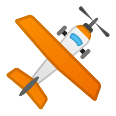 Small Airplane google emoji