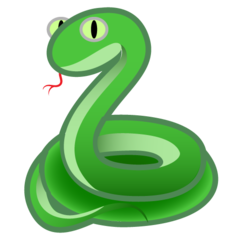 Snake google emoji