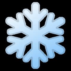 Snowflake google emoji