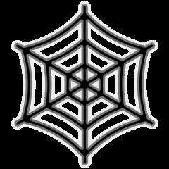 Spider Web google emoji
