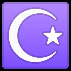 Star And Crescent google emoji
