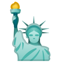Statue Of Liberty google emoji