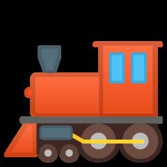 Steam Locomotive google emoji