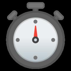 Stopwatch google emoji