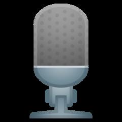 Studio Microphone google emoji