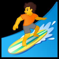 Surfer google emoji