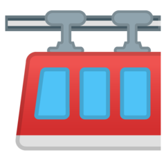 Suspension Railway google emoji