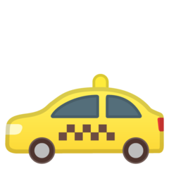 Taxi google emoji